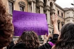 Liberté, egalité, sororité (Jo March11) Tags: 8demarzo huelgadel8demarzo feminismo igualdad bilbao bizkaia paísvasco euskalherria ieletxigerra idoiaeletxigerra eletxigerra canon canoneos
