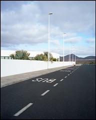 La Santa, Lanzarote (AntoineLegond) Tags: lasanta lanzarote canaryislands spain volcano palmtrees mamiya7 mamiya7ii 65mm kodak portra film analogue
