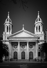 Cathedral Basilica of St. Joseph (Rohit KC Photography) Tags: cathedral stjoseph sanjose california blackandwhite blackandwhitephotography streetphotography grainy canon dslr canon5dmarkii canonphotos photos photography rohitkcphotography religion religious beautiful street frame hobby lovephotography travel ca panorama merged edited lightroom usa vignette peace fun