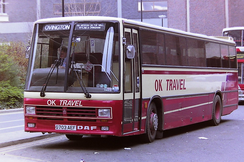 OK TRAVEL, BISHOP AUCKLAND G703AEF