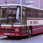 OK TRAVEL, BISHOP AUCKLAND G703AEF
