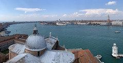 Venice Pano (mkniebes) Tags: panorama venice italy travel cityscape sanmarco dorsoduro tooftops cathedral water lagoon sangiorgiomaggiore iphone