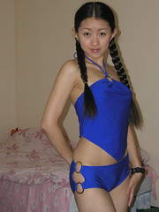 Mei (Chris-Creations) Tags: amateur asian attractive beautiful beauty chinese cute esposa feminine femme fille girl glamour gorgeous lady lovely mei mujer niña people petite portrait pretty sweet wife woman женщина 女孩 女人 性感 妻子 pigtails swimsuit tankini braids braid braidedhair