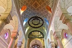 Sainte-Anne de la Butte aux Cailles, Paris (Guillaume DELEBARRE) Tags: church église canon butteauxcailles paris france colors perspective 5dmarkiv tamron2470f28 5d4 architecture symetry symétrie