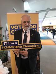 Jan Olbrycht przyłączył się do akcji#Childrenrightscampaign, wspierającą prawa dzieci. Jako sprawozdawca wieloletniego budżetu UE, Jan Olbrycht aktywnie walczył o środki przeznaczone na walkę z biedą wśród dzieci. PE, Bruksela 2019.