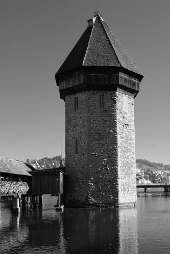 in Lucerne: the Kapellbrücke