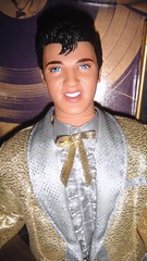 2001 Elvis King of Rock & Roll Doll (6) (Paul BarbieTemptation) Tags: timeless treasures elvis doll gold suit 2001 king rock roll