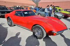 Chevrolet Corvette Stingray (benoits15) Tags: chevrolet corvette stingray red american car nimes auto retro