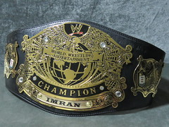 (imranbecks) Tags: wwe undisputed championship v1 replica title belt custom nameplate beltaddiction
