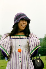 """Girl Hampstead Heath 1970 (hoffman) Tags: 1970 hampsteadheath girl young youth female outdoors leisure asian davidhoffman wwwhoffmanphotoscom davidhoffmanphotolibrary socialissues reportage stockphotos""""stock photostock photography"""" stockphotographs""""documentarywwwhoffmanphotoscom copyright"""