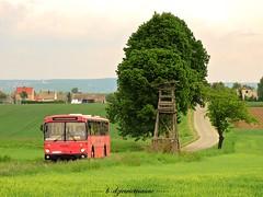 Mercedes-Benz O307 #SRC J738 (b-dziewiętnaście) Tags: mercedesbenz o307 srcj738 bus autobus nowawioska poland polska śląskie pksracibórz pks
