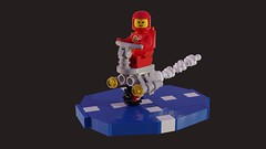 Febrovery 2019 01 (David Roberts 01341) Tags: lego ldd mecabricks classicspace unicycle render redspaceman febrovery