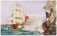 AY3YC3 (austincampp76) Tags: crime pirates roberts piratical career brought bartholomew end royal naval warship swallow attacks himself being killed during action 1722 flag jolly roger pirate piracy history historical the is an when