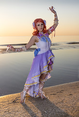 _MG_9005 (Mauro Petrolati) Tags: elisa runeterrae cosplay cosplayer rimini 2018 comix set alba sunrise spiaggia beach love live maki nishikino angel sea mare idol