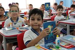 Educação entrega material escolar CEM Antonio Lucio 11 02 19 Foto Celso Peixoto  (5) (prefeituradebc) Tags: educação material escolar entrega alunos caderno lapis borracha régua apontador