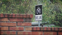 Bike Lane sign (Ricardo's Photography (Thanks to all the fans!!!)) Tags: video b roll anthem park florida nature sony saintcloudfl centralflorida cinematic videolibrary freevideos 1080pvideos 1080p freefootage footage sonyvideos
