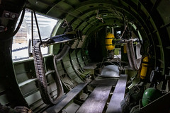 Boeing B-17G Flying Fortress Interior (Serendigity) Tags: 390thmemorialmuseum arizona b17 boeing pimaairspacemuseum tucson usa usaaf unitedstates wwii aircraft aviation bomber guns hangar indoors interior museum unitedstatesofamerica