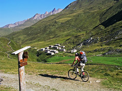 Loaded... (Vid Pogacnik) Tags: austria hohetauern rieserfernergroup outdoors biking landscape mountain arvental road jagdhausalm meadow huts valley