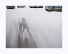 La ruée vers l'art (hélène chantemerle) Tags: beaubourg cyprianmuresan thesculpturestorage2016 exposition mur ombre exhibition wall shadow light