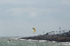 2018_08_15_0159 (EJ Bergin) Tags: sussex westsussex worthing beach seaside westworthing sea waves watersports kitesurfing kitesurfer seafront lewiscrathern