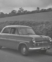 Car (vintage ladies) Tags: vintage blackandwhite photograph photo car