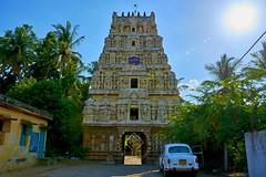 "Anbilandurai-Sathyavaakeesvarar Temple-Anbil-Tiruchirapalli. (Kalai ""N"" Koyil) Tags: nikon d 5200 kalainkoyil 18140mm anbil anbilandurai sathyavakeesvarar temple tiruchirapalli lalgudi tamilnadu southindiantemple architecture hrec brahmapureeswarar"