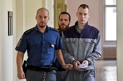 Jiří Meindl 3 (Kluci v nesnázích) Tags: accused court criminal jail handcuffs prison inmate