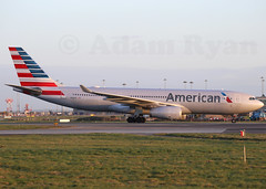 N280AY - American Airlines A330-200 (✈ Adam_Ryan ✈) Tags: dub eidw 2019 dublinairport2019 ireland canon 6d 100400liiisusm 100400 early earlymorning sun arrival landing aircraft airbusboeing n280ay american airlines a330200