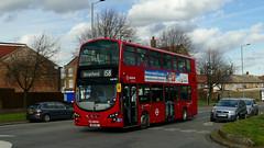 First Back On The 158 (Kinda) (londonbusexplorer) Tags: arriva london volvo b9tl wrightbus gemini 2 vlw905 bn61mxt 158 chingford mount stratford tfl buses vn37969