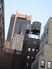 1515 Broadway Office Building NYC 2692 (Brechtbug) Tags: the former milford plaza hotel now row nyc front 1515 broadway office building with minskoff theatre lobby towering back 45th street midtown 2019 new york city february 02282019 theater looking east