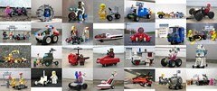 Febrovery 2019 (captain_j03) Tags: toy spielzeug 365toyproject lego minifigure minifig moc febrovery space rover car auto