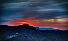 lever du Soliel (johnsinclair8888) Tags: sliderssunday sunrise hdr nikon d850 lasvegas johndavis desert snow calicobasin earth planet art blue sun