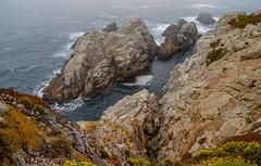 Coastal rocks (Snap Man) Tags: california californiacentralcoast carmel carmelbythesea cypressgrovetrail montereycounty pointlobosstatenaturalreserve byklk