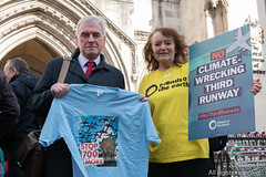 No 3rd Runway High Court hearing - 11 March 2019 (The Weekly Bull) Tags: friendsoftheearth heathrow johnmcdonnell london ngo royalcourts strand uk airpollution airportexpansion campaigning climatechange environment globalwarming noise pollution thirdrunway