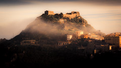 Castelmola I (rodriguesfhs) Tags: rodriguesfhs castelmola sicilia sicily italia italy castle clouds mountains mist misty architecture fortification travel travelphotography photo photography