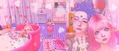 Relaxing bath 🛁😍 (❣Nanu&Deli✮) Tags: ivy head laq astralia maitreya miwas lagom bath relaxing photoshop secondlife sl firestorm kawaii cute sweet pink aii mossmink cakeinc amitomo