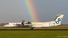 FlyBe Dash 8 (Ramon Kok) Tags: ams avgeek avporn aircraft airline airlines airplane airport airways amsterdam amsterdamairportschiphol aviation be bee dehavillandcanada dehavillandcanadadhc8400 dehavillandcanadadash8 eham flybe gflba holland rainbow schiphol schipholairport thenetherlands
