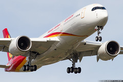 Hainan Airlines Airbus A350-941 cn 285 F-WZNZ // B-???? (Clément Alloing - CAphotography) Tags: toulouse airport aeroport airplane aircraft airbus flight test canon 100400 spotting tls lfbo aeropuerto blagnac airways aeroplane engine sky ground take off landing 1d mark iv avgeek avgeeks planespotter spotter