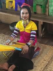 Long neck lady, Myanmar (Creusaz) Tags: girafe femme myanmar lady neck long