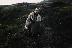 Yana (vlkvaph) Tags: portrait young woman cinematography cinematic atmospheric atmosphere beauty beautiful aesthetics aesthetically mood melancholy melancholic canon6d canon cute pretty female girl outdoor mountains hills hill mountain grass