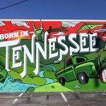 Mountain Dew: Born in Tennessee Mural thumbnail