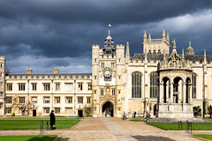 Trinity College, Cambridge  (Explored) (Ken Barley) Tags: cambridge greatcourt trinitycollege
