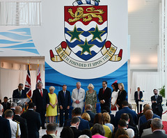 Inside ceremony prayer CJ10ed (Cayman Islands Government Information Services) Tags: royalarrival27march cayman royal visit charles prince wales camilla duchess cornwall owen roberts international airport united kingdom great britain