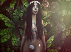 Spring is here (Anika ♥ Away) Tags: spring flair event for events avada ms design this is wrong entwined euphoric mjn session lelutka uber kinky secondlife sl avatar
