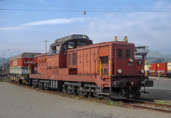 SBB Bm6/6 18505 (maurizio messa) Tags: bm66 shunter manovra cinderella rangierlokomotive ticino switzerland svizzera mau bahn ferrovia treni trains railway railroad yashicafxd
