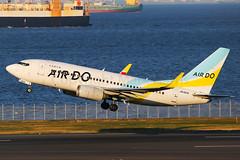 Air Do Boeing 737-781 JA15AN (Mark Harris photography) Tags: spotting plane hnd haneda jpn aviation canon