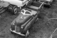 pedal truck (bergytone) Tags: bw blackandwhite film olympus om2n 35mm monochrome kentmere 100 xtol pedaltruck