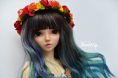DSC_2113 (sonya_wig) Tags: fairytreewigs wig bjdwig minifeewig bjd bjdminifee minifeechloe handmadedoll bjddoll dollphoto fairyland fairylandminifee minifee chloe bjdphotographycoloringhair