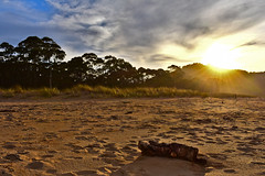 Playa de Rodiles, Villaviciosa, Asturias (diegocarreraperez) Tags: playa atardecer sunset beach asturias arena sol sun sand españa spain europa europe rodiles villaviciosa sidra concejo asturies norte north light luz clouds nubes cielo sky