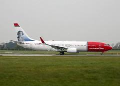 Norwegian                     Boeing 737                                           EI-FJY (Flame1958) Tags: norwegian norwegianb737 boeing737 boeing b737 737 eifjy dub eidw dublinairport 120419 0419 2019 8620